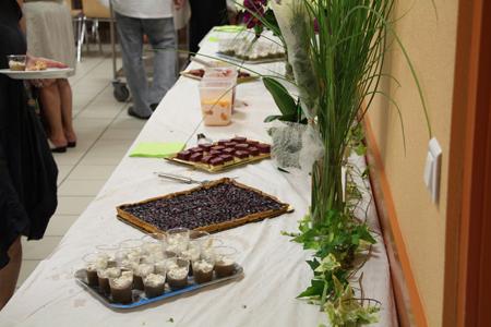Nicole Luttmann vous propose une cuisine sucré avec des buffets à volonté
